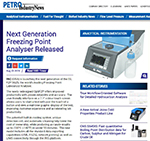 next gen freezing point analyzer released